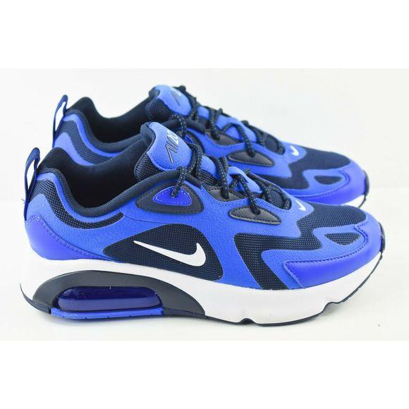 Nike Air Max 200 Mens Size 8 Shoes AQ2568 406 Blue NWT